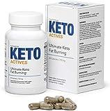 KETO ACTIVES Premium - El mejor ingrediente 100% natural, enorme quema de grasa,...