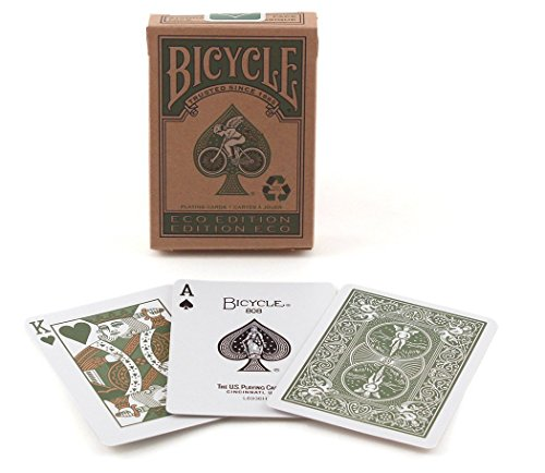 Bicycle Eco Edition Playing Cards [並行輸入品]