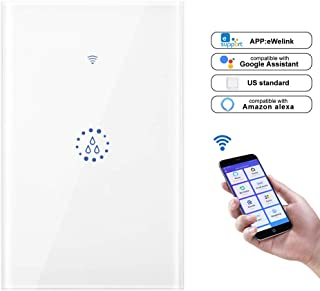 Wi-Fi Boiler, DDSKY Smart Switch Boiler Controller Switch Remote Control Compatible with Alexa Google Home, White