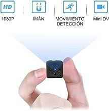 Mini Camara Espia Oculta Video Cámara,NIYPS 1080P HD Camaras de Vigilancia Portátil Secreta Compacta con Detector de Movimiento IR Visión Nocturna, Camara Seguridad Pequeña Interior/Exterior