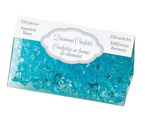 Lillian Rose Diamant Confetti, Aqua