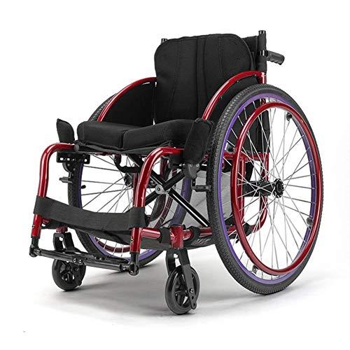 YDLY Sport- Und Freizeitrollstühle Leichtgewicht Power Assist Active Basketball Sport Manual Rollstuhl Mit Sportrollstuhl