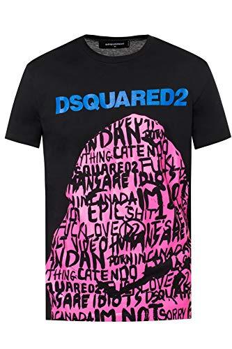 DSQUARED2 t-Shirt Uomo Nero L