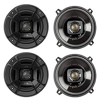 Polk Audio DB522 5.25 Inch 300W 2 Way Car/Marine ATV Stereo Speakers  4 Pack