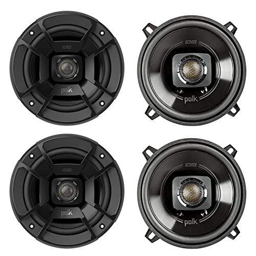 Polk Audio DB522 5.25 Inch 300W 2 Way Car/Marine ATV Stereo Speakers (4 Pack) -  2 x DB522