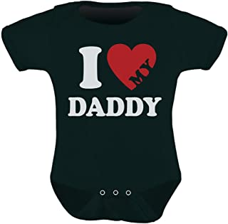 I Love My Daddy/Mommy Mother's/Father's Day Unisex Cute Baby Bodysuit