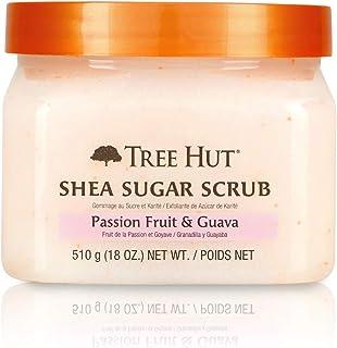 Tree Hut Shea Sugar Scrub, Passion Fruit and Guava, 18 Ounce