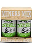 MINERS MIX XXX Garlic Dry Rub Takes Any Protein, Pasta, Seafood, or Vegetable To A Whole New Addictive Level. All Natural Blend of Perfectly Balanced Herbs and Spices. No MSG No Preservatives 2 Pack
