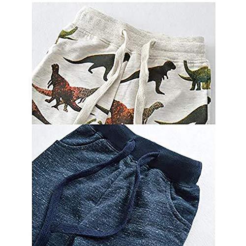 Janly Liquidación Venta de 0-10 años Niños Trajes y Set Bebé Pantalones de jogging Animal Print Cordón...
