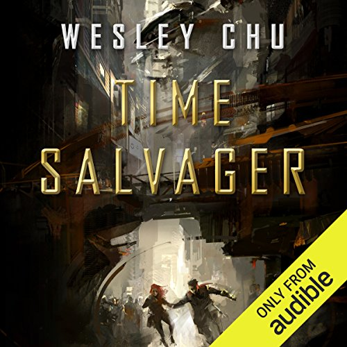 Time Salvager audiobook cover art