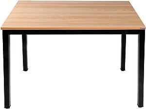 Need Table 100x60cm - Table pour ordinateur, Table compacte et solide pour la maison, table de bureau, Teck Chêne Couleur AC3BB-100