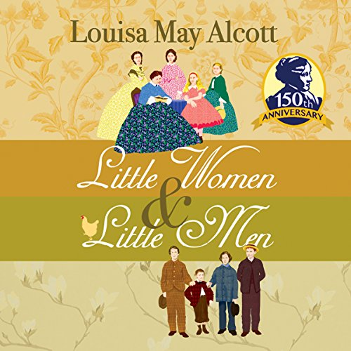 Little Women & Little Men audiobook cover art