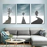 zzlfn3lv Nordische einfache große Baum Schlafzimmer Nachttisch Malerei hängen...