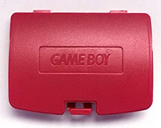 Replacement Battery Back Cover Case Door Lid For Gameboy Color GBC (Red)