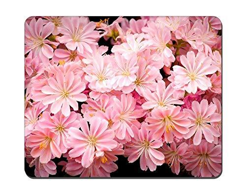 Mauspad Flower Picture Game Office Mauspad, rutschfestes Mauspad aus Naturkautschuk, längliches Mauspad 25x30cm-H81