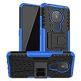 Nokia 5.3 Case, SKTGSLAMY [Shockproof] Tough Rugged Dual