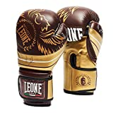 LEONE 1947 Boxing Gloves Legionarivs Boxing Gloves Unisex - Adult, Burgundy, 10 Oz