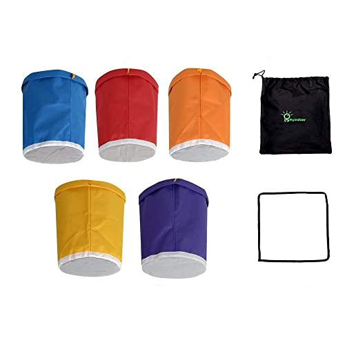 Hyindoor Bubble Bags 1 Gallon 5 Bag Herbal Ice Bubble Hash Bag Essence  Extractor Kit Come 583827a694220