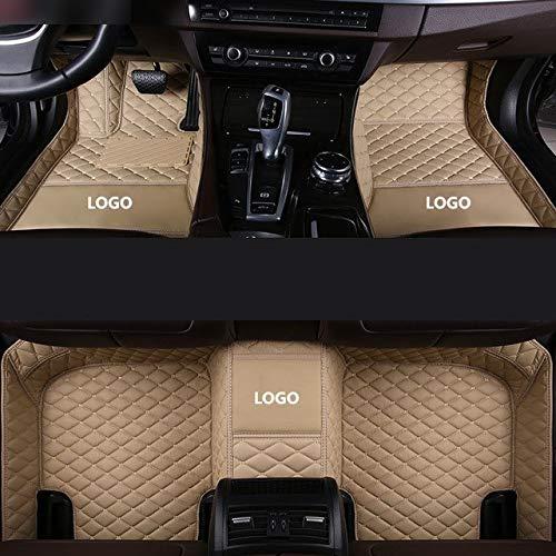 ZYDSD Estera del Piso del Coche for Jaguar XF 2008 2009 2010 2011 2012 2015 2016 2014 2013 F Pace X-Type Xj Accesorios Alfombras Tapetes para Autos SUV camión y camioneta (Color Name : Color 1)