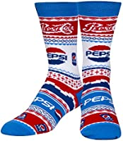 Cool Socks, Mens, Ugly Sweater Sock, Food, Crew Socks, Holiday Novelty Funny