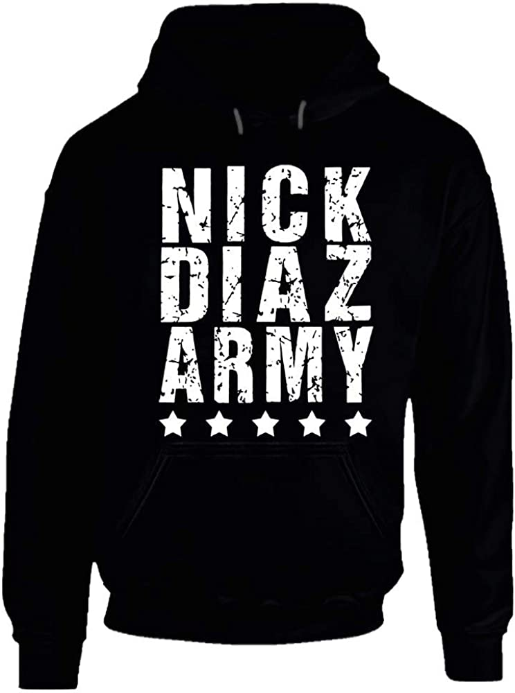 Ethan Easy-to-use Alleyne Nick Diaz Army MMA Fan gift Fight Hoodie