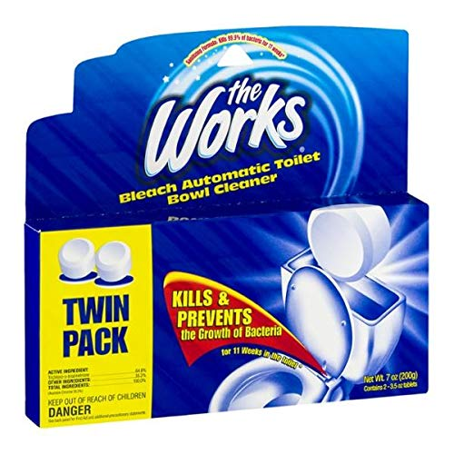 The Works Toilet Bowl Cleaner (Pack of 6)