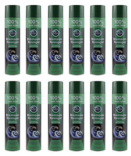 P4B | 12x Spraydosen Bremsenreiniger - mit je 600ml | Hochaktives Reinigungsspray | Bremsenpflege | (12)