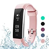 LETSCOM Fitness Tracker, Activity Tracker with Pedometer Step Counter Watch and Sleep Monitor