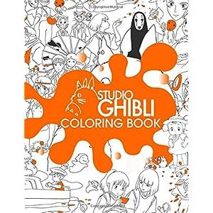 Ghibli Studio Coloring Book: Color all your Ghibli Studio favorite characters