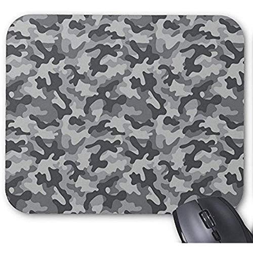 Muismat camouflage patroon vloerbedekking grijze druk muismat