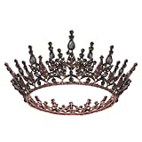 SWEETV Gothic Queen Crown for Women,...