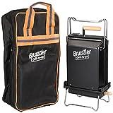 Bruzzzler - Barbacoa carbón portatil y plegable con bolsa de...