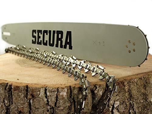 SECURA 2x Sägekette + Schwert 3/8 1,3...