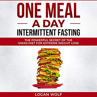 One Meal a Day Intermittent Fasting      The Powerful Secret of the OMAD Diet for Extreme Weight Loss              By:                                                                                                                                 Logan Wolf                               Narrated by:                                                                                                                                 Timothy Brandolino                      Length: 3 hrs and 12 mins     46 ratings     Overall 4.2