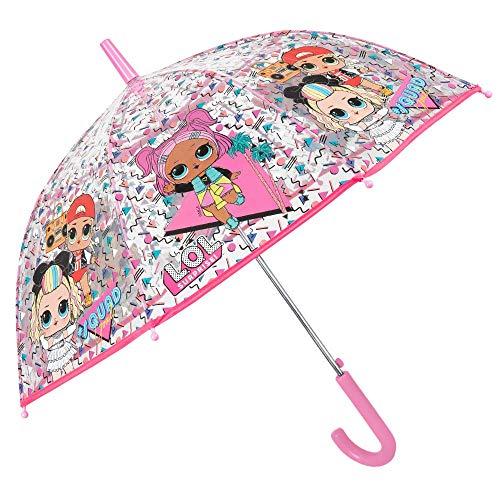 LOL Verrassing Transparant Paraplu Brolly Winddicht Kinderen Kinderen Paraplu 60CM