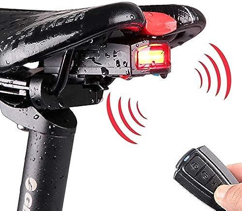 Venta barata Easy Go Go Go Shopping Luz Trasera COB LED Alarma de Bicicleta Luz Trasera Trasera con Control Remoto, Control Distancia  1-100m IP65 Impermeable USB Recargable Bicycle Accessories
