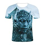 Aatensou Game of Thrones - Camiseta de manga corta para hombre y mujer, estilo informal, cuello redondo, Diseño 6, extra-large