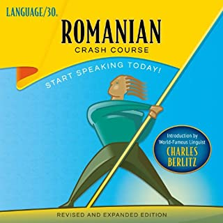 Romanian Crash Course audiobook cover art
