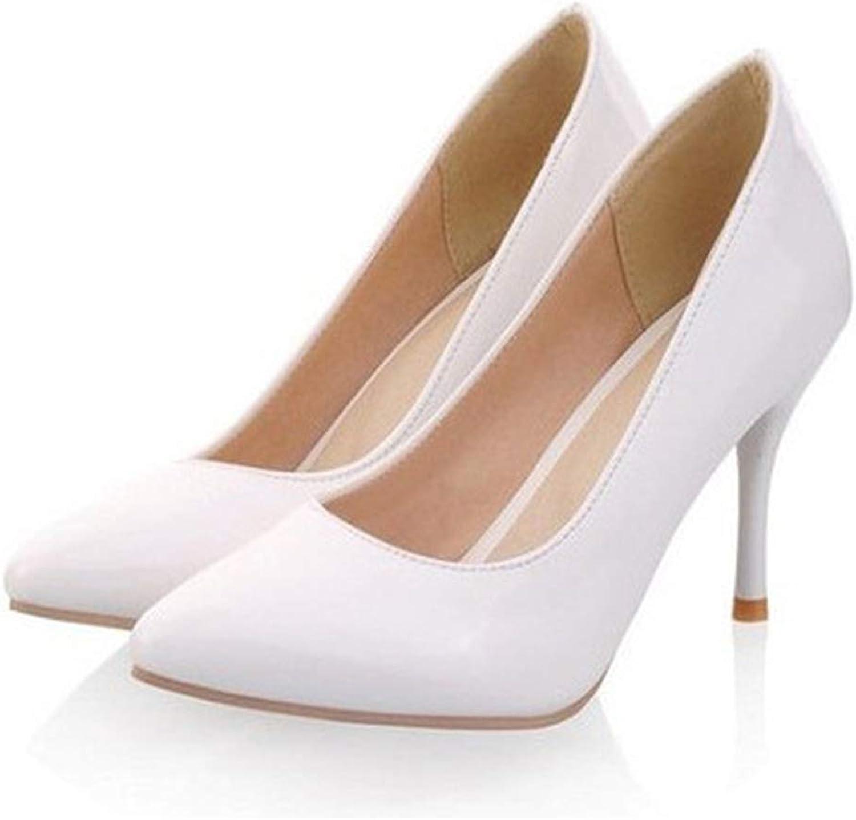 34-47 Sexy Elegant High Heeled Pointy Toe Pumps Wedding shoes Kvoll Ol Stilettos