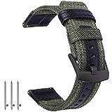 OTOPO Compatibile Gear S3 Frontier & Galaxy Watch 46mm Cinturino, 22mm Quick Release in tessuto di nylon cinturino di ricambio cinturino Band per Samsung Gear S3 Frontier / Classic Smartwatch