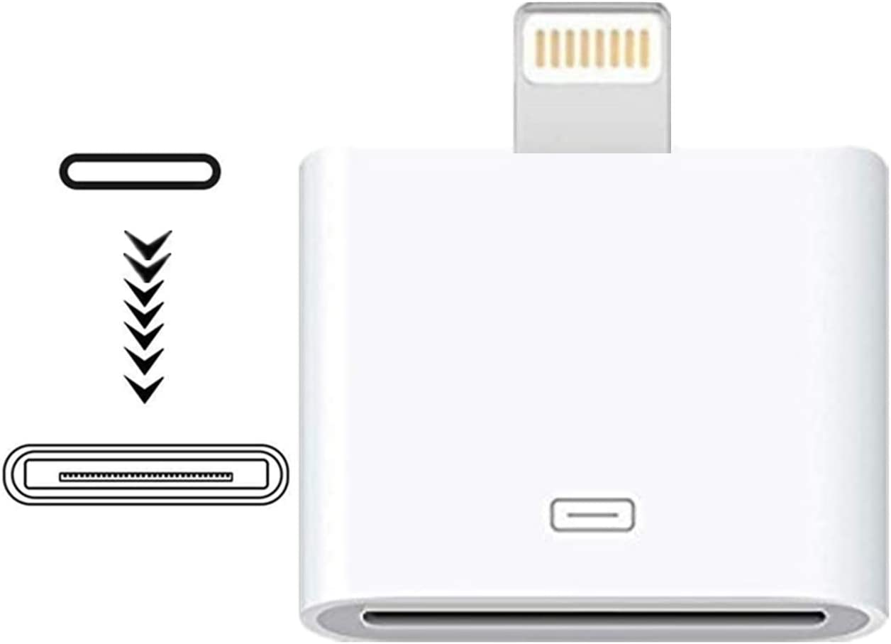 MFi Certified Lightning to 30-Pin 8-Pin Male Max 63% OFF iPhone Adapter Albuquerque Mall