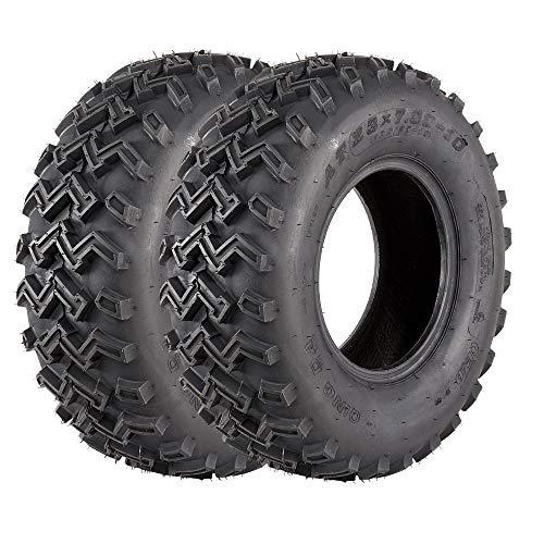 VANACC Set of 2 23x7-10 ATV/UTV Sport Tires 23x7x10, 4PR, Tubeless