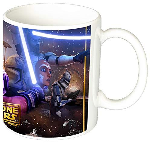 La Guerra De Las Galaxias Star Wars The Clone Wars Taza Ceramica