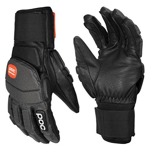POC Super Palm Comp Handschuhe, Nero (Nero uranio), XS