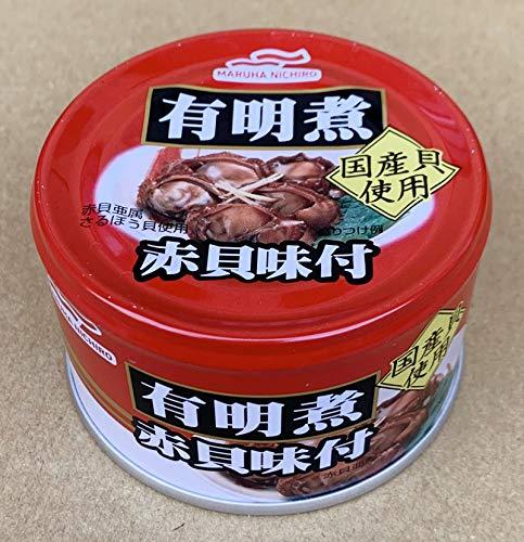 マルハニチロ 有明煮赤貝味付 150g ×6個