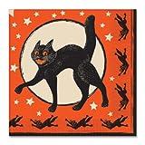 Beistle Servilletas de papel vintage para Halloween, 30,48 cm