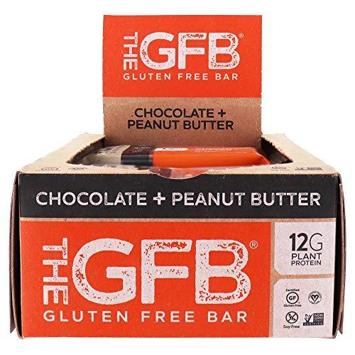 The GFB - The Gluten-Free Bars Box Chocolate Peanut Butter - 12 Bars