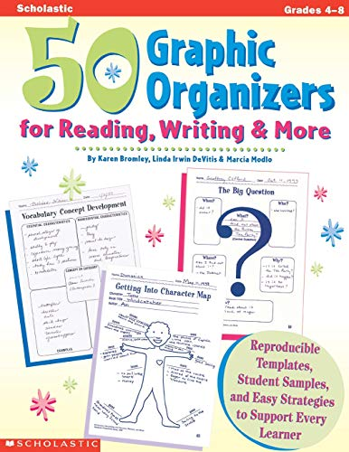 Compare Textbook Prices for 50 Graphic Organizers for Reading, Writing & More Grades 4-8  ISBN 9780590004848 by Linda Irwin-DeVitis,Karen Bromley,Marcia Modlo