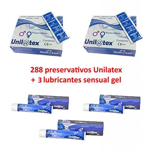 Oferta 288 Preservativos + 3 Lubricantes