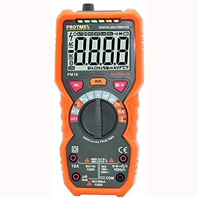 Protech Digital Multimeter AC/DV Voltage Tester